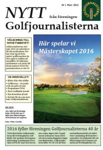 """om Skaftö - Årets Golfklubb, minnen från 2014-15, boken """"Golfilicious"""" samt årets program."""