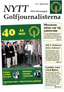 """om 40-årsjubiléet, Mästerskapet på Drottningholm, """"TV-golf"""" och Mediaslaget i Degerfors"""
